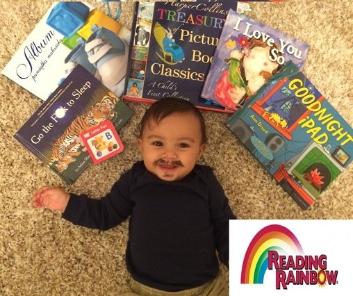 Reading Rainbow Baby Costume