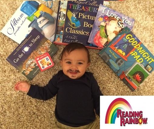 Reading Rainbow Baby Costume