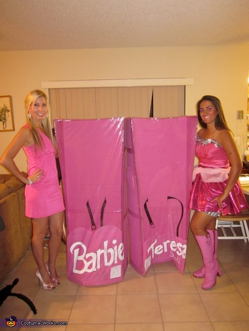 Real Dolls that came to Life!, Barbie and Teresa Costumes