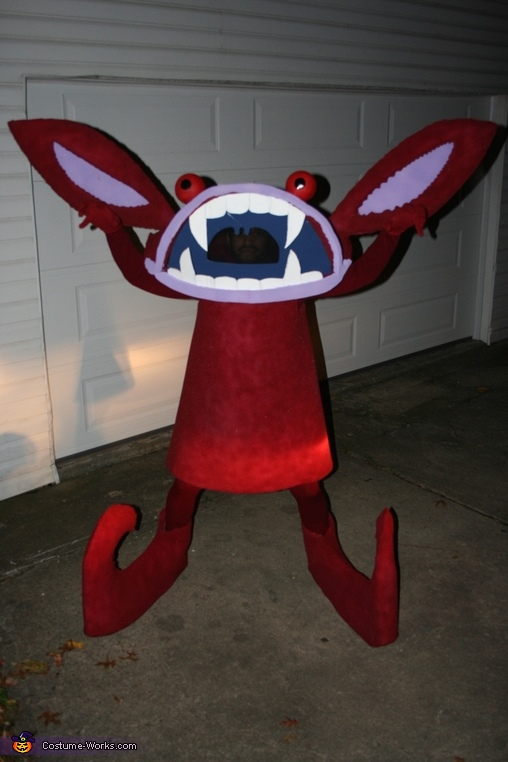 Aaahh Real Monsters Ickis Oblina Costumes Photo 3 5