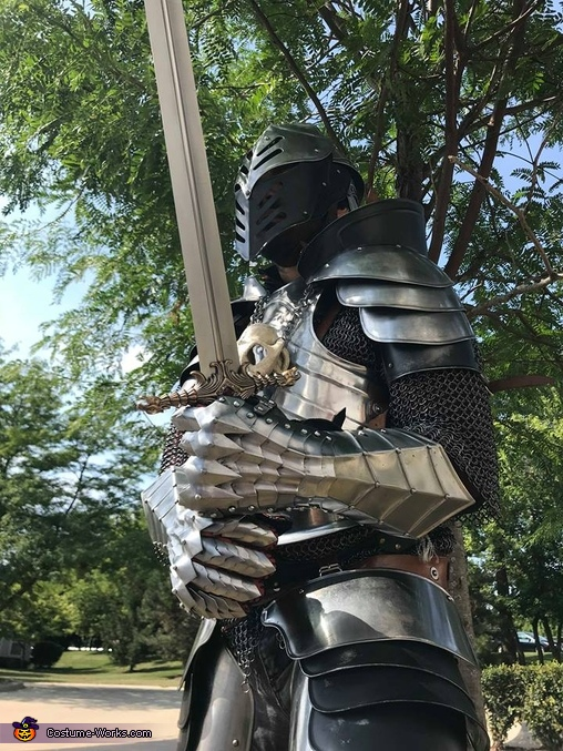 Real Steel Gothic Knight Costume
