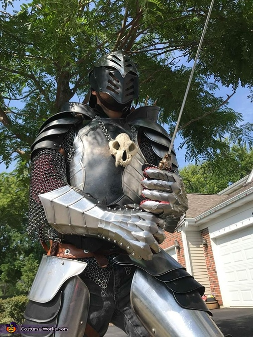 Real Steel Gothic Knight Homemade Costume
