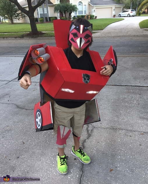 Really Transforming Transformer Costume