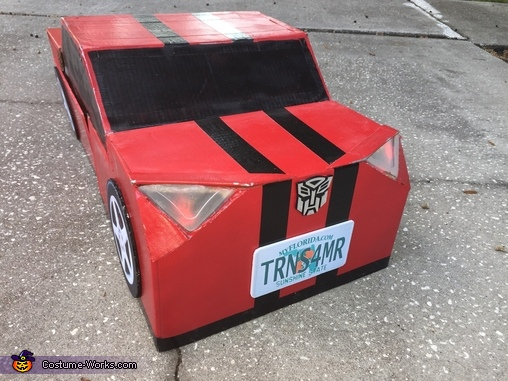 Really Transforming Transformer Homemade Costume