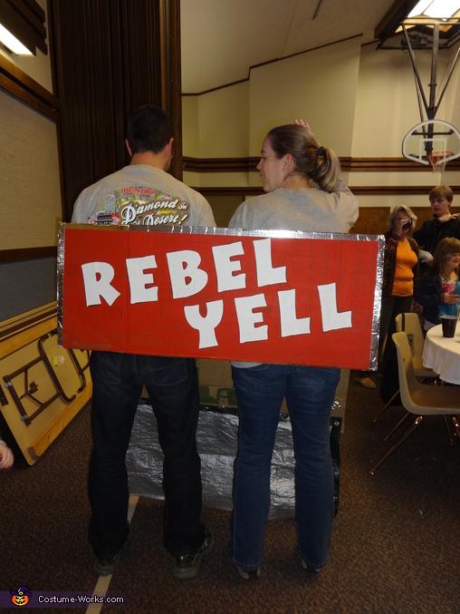 Rebel Yell Homemade Costume