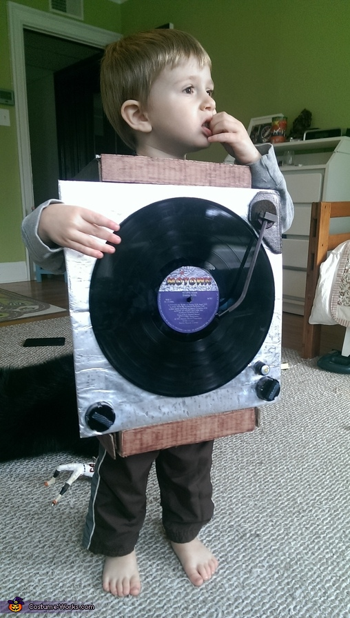 Record Player Costume
