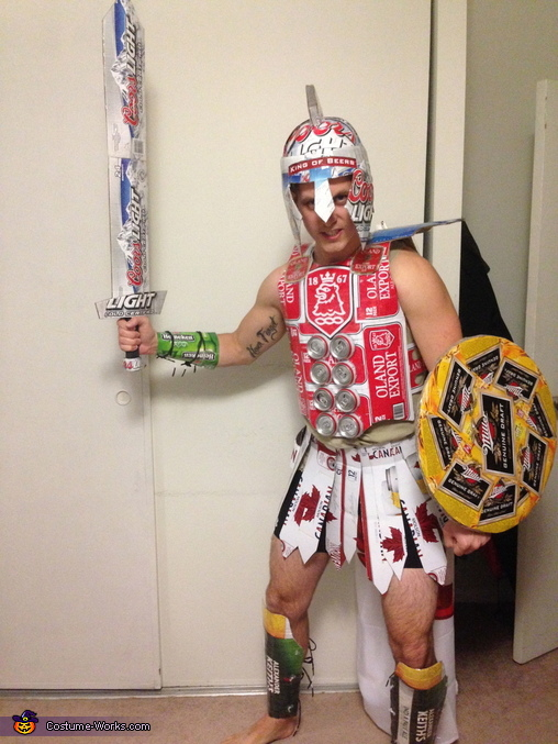 Recyclus Maximus Homemade Costume