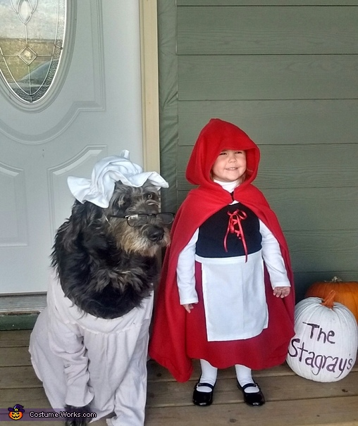 "Red and ""Grandma"" Costume"