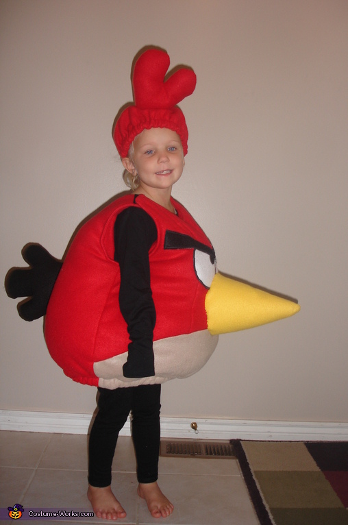 Red Angry Bird costume, Angry Birds Costumes