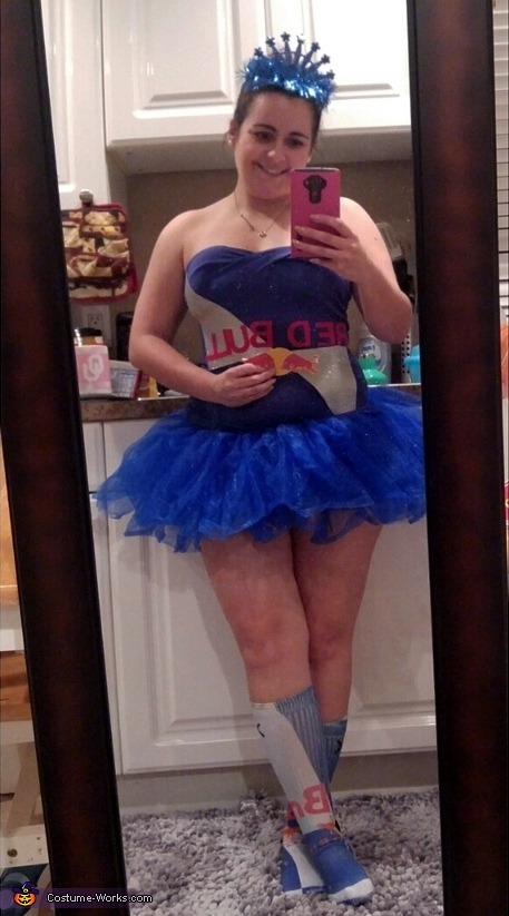 Red Bull Princess Costume