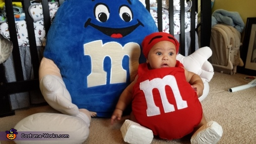 Red M&M Baby Costume