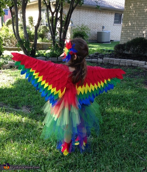 Red Parrot Costume