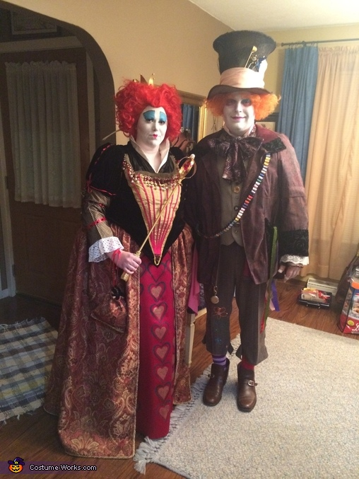 Red Queen and Mad Hatter Costume