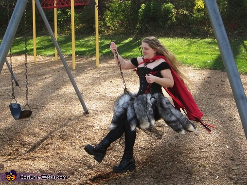 Just for fun, Red Riding-hood's Revenge Costume