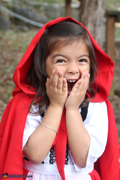 'Ahhh', Red Riding Hood and Big Bad Wolf Costume