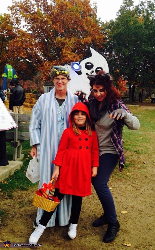 Red Riding Hood, Granny and the Wolf Costume