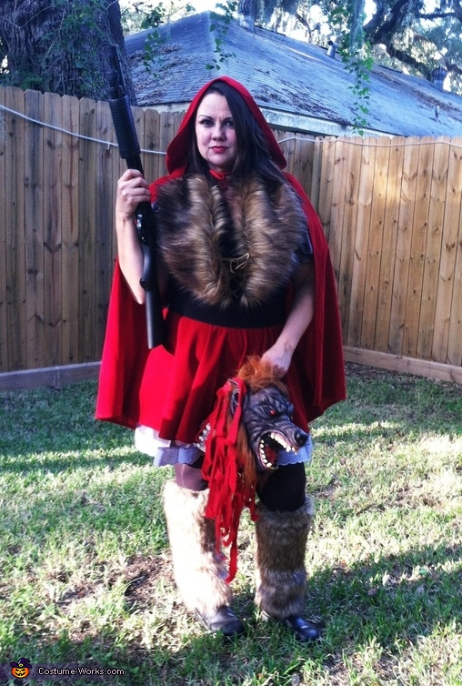 Red Riding Hood Wolf Hunter Costume