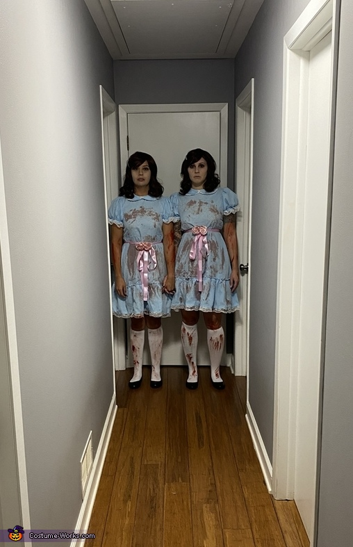 Red Rum Twins Costume