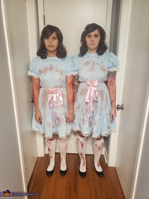 Red Rum Twins Homemade Costume