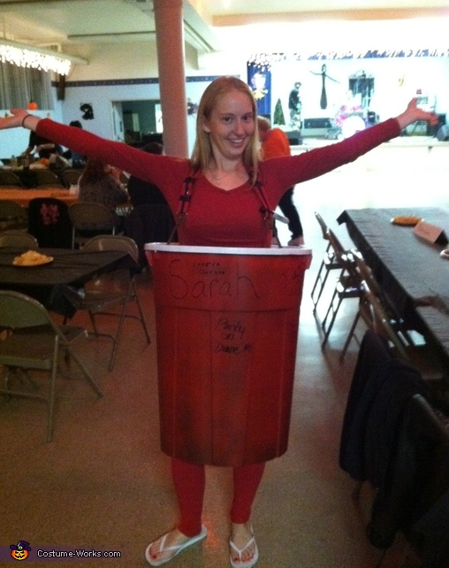 The gallery for --> Solo Cup Costume