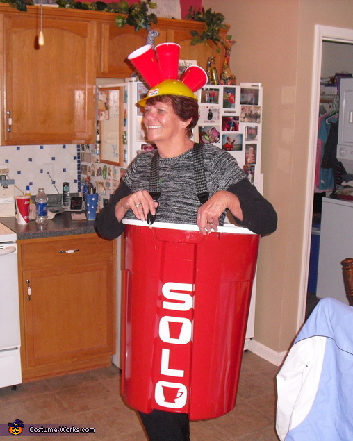 Anyone for beer pong?, Red Solo Cup Costume