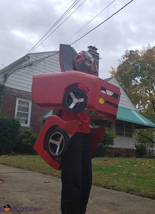 Red Transformer Costume