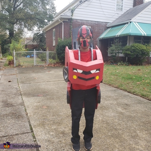 Normal Red Bumblebee, Red Transformer Costume