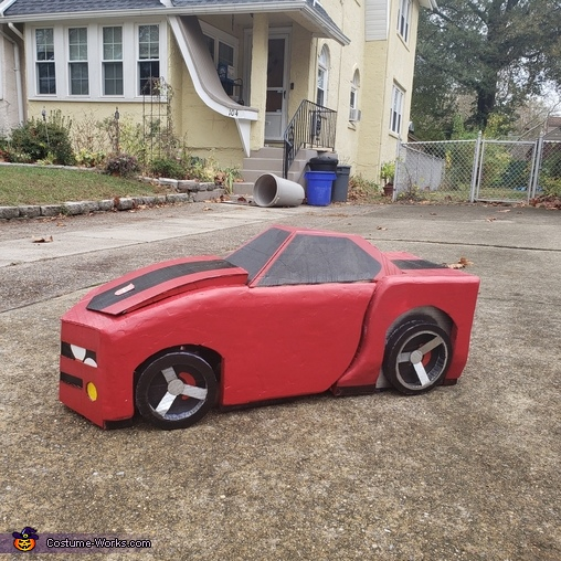 Autobots Roll Out, Red Transformer Costume