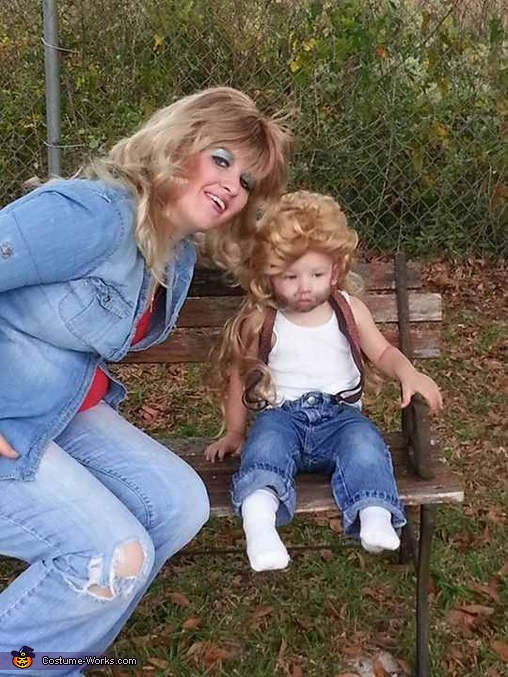Classic Southern Family Homemade Costume