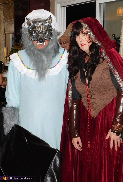 Redriding Hood and the Wolf Costume