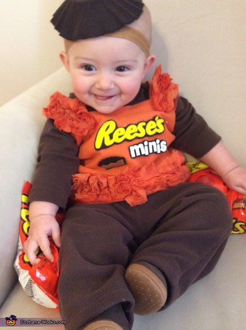 Reese's Peanut Butter Cups Baby Costume