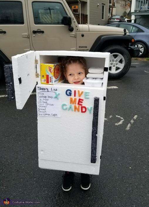 Refrigerator Halloween Costume