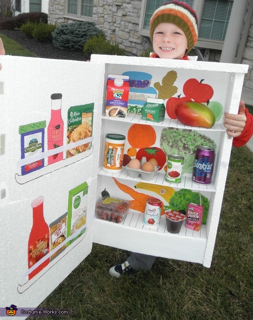 Refrigerator - Homemade costumes for boys