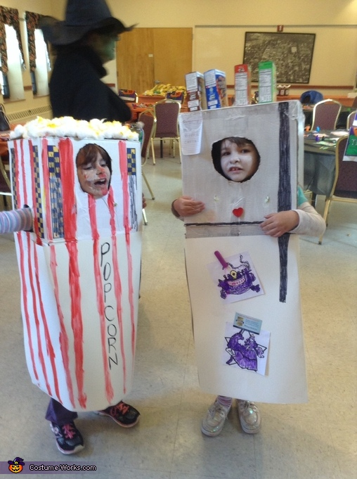 Refrigerator and Popcorn Costumes