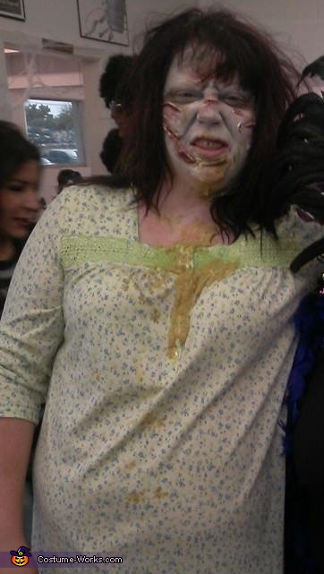 Regan from Exorcist Homemade Costume