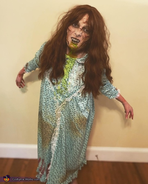 Regan McNeil from The Exorcist Homemade Costume