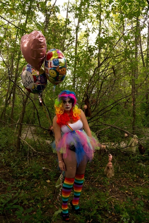 Rillek the clown -- photographer Chris Seaborn, Rellik the Clown Costume