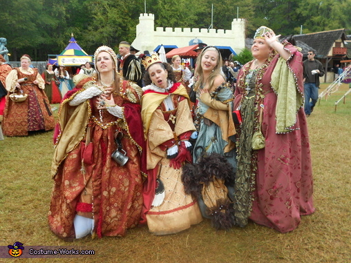 Renaissance Fun Group Costume