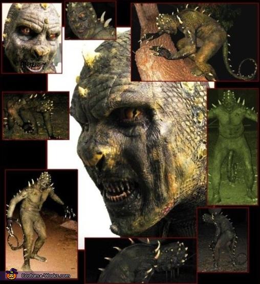 Reptileman - Homemade costumes for men
