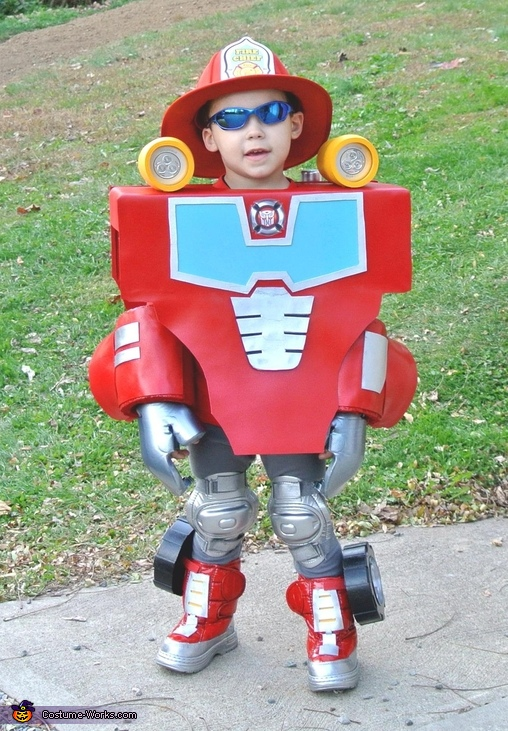 Rescue Bot Heatwave Costume