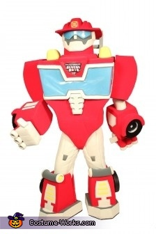Picture of Model, Rescue Bot Heatwave Costume
