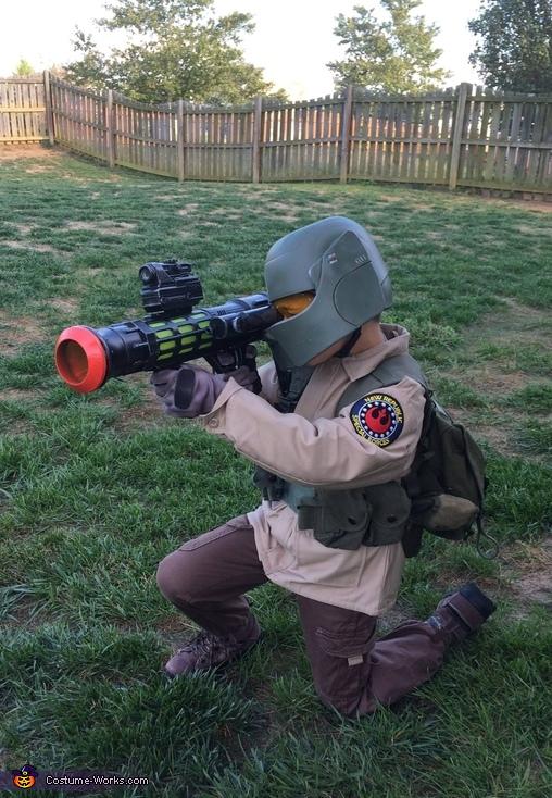 Resistance Trooper Costume