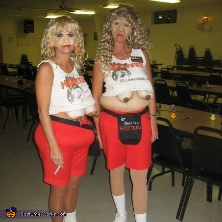 retired hooters costume