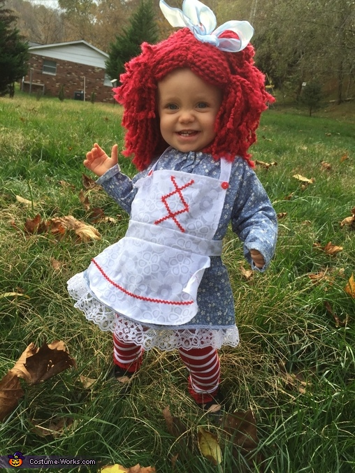 Revamped Raggedy Ann Costume