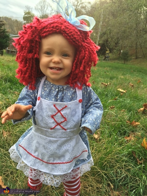 'Dolls smile too!', Revamped Raggedy Ann Costume