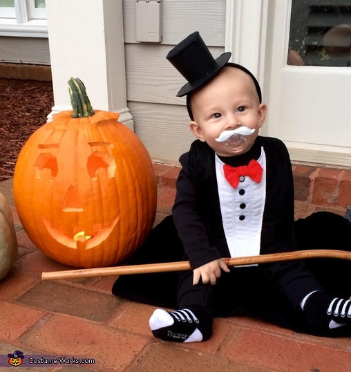 Rich Uncle Pennybags Homemade Costume