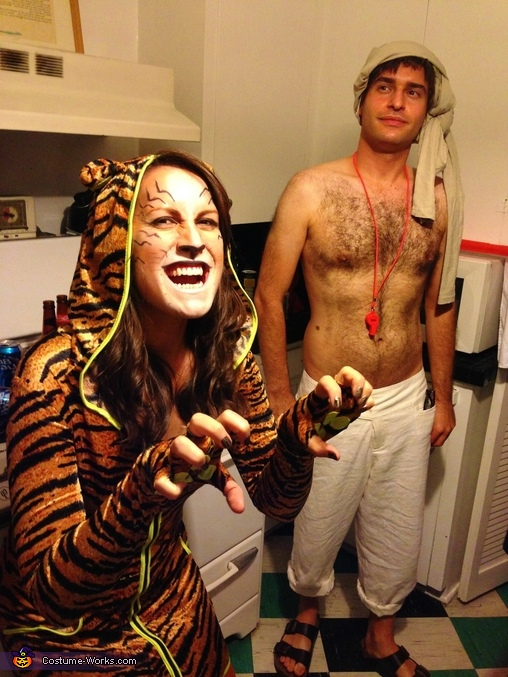 Richard Parker & Pi Patel Costume
