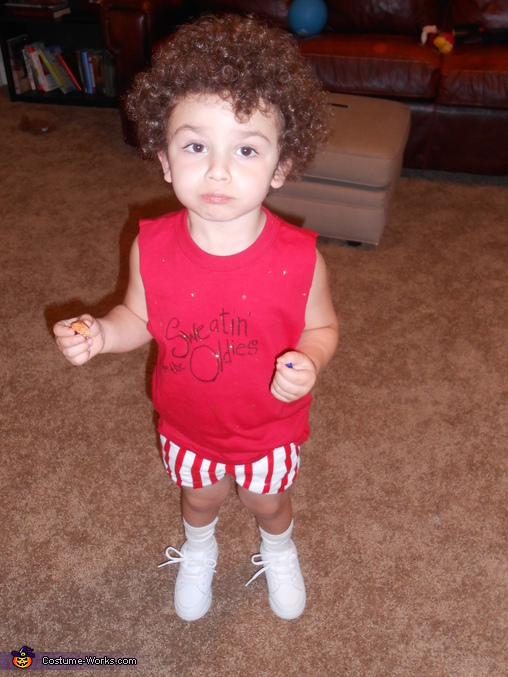 Richard Simmons - Homemade costumes for babies
