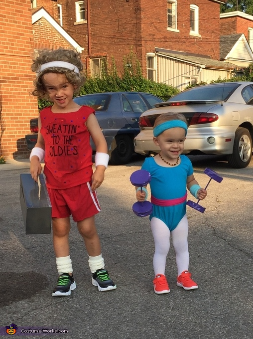 Let's Get Physical - Richard Simmons and Olivia Newton John Costume