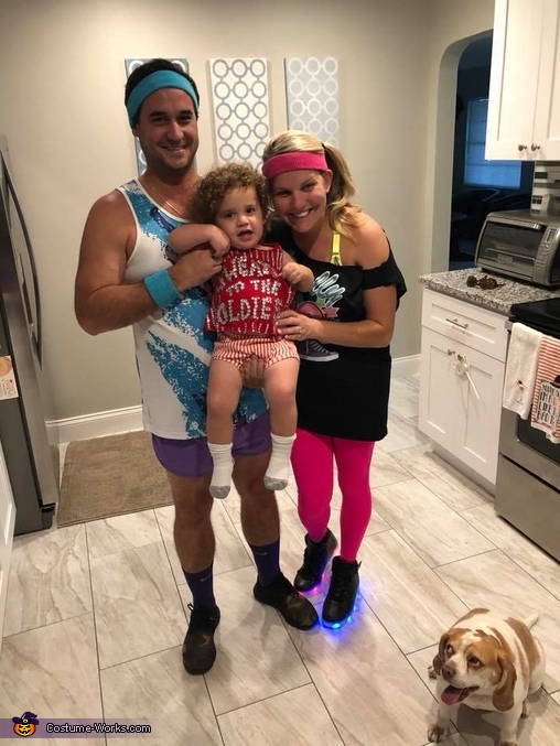 Richard Simmons Baby Homemade Costume